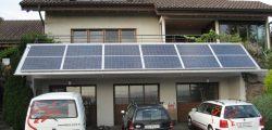 Photovoltaikanlage auf Blechdach Objekt Gossau